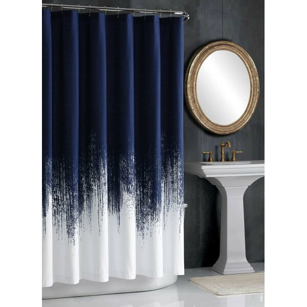 Lyon 100% Cotton Shower Curtain by Vince Camuto